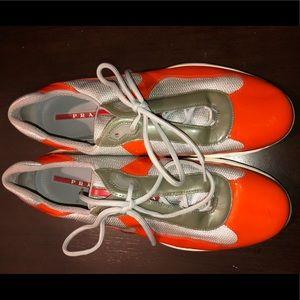 Prada sneakers size 12 1/2
